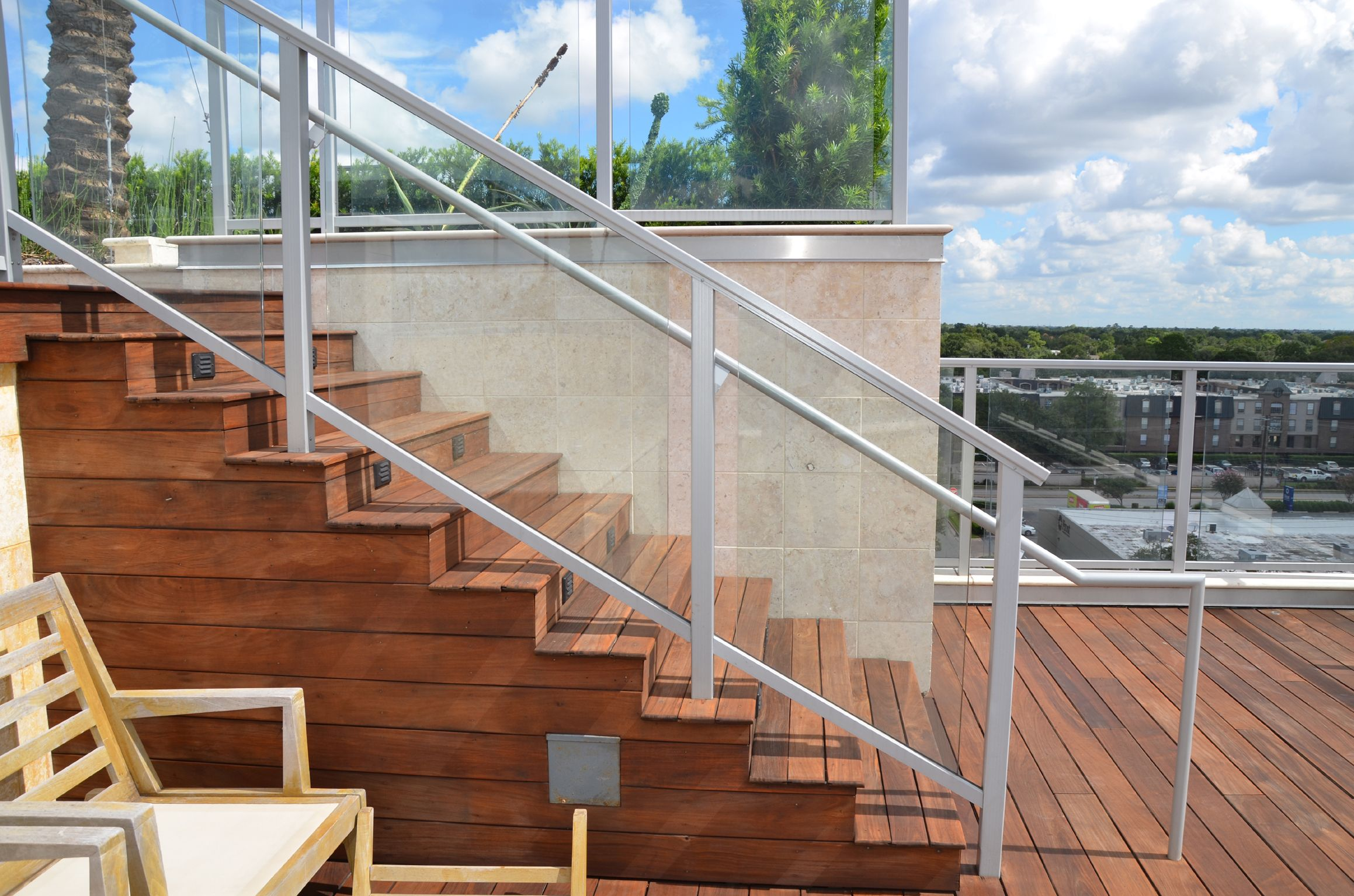 Glass balusters for railings crls 200 series ars aluminum glass balusters for railings crls 200 series ars aluminum railing system was retrofitted to the baanklon Images