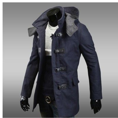 Men-s-Wool-Overcoat-Pea-Coats-Men-causal-hooded-Double-breasted ...