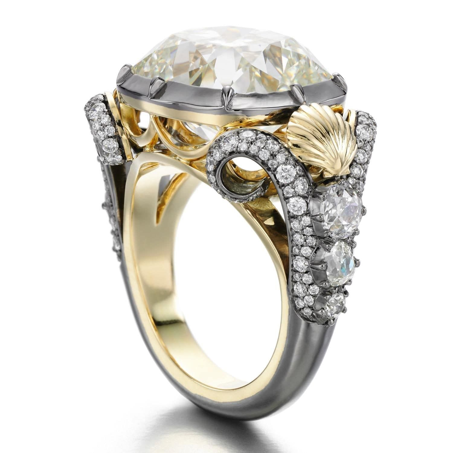 Jessica Mccormack The Little Mermaid Engagement Ring Poa