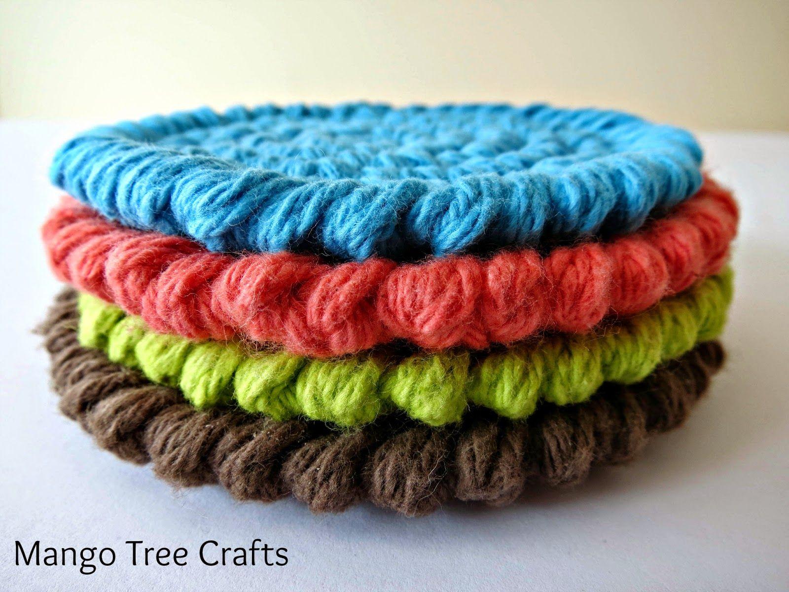 Crochet Coasters Free Pattern | Crochet | Pinterest | Crochet ...