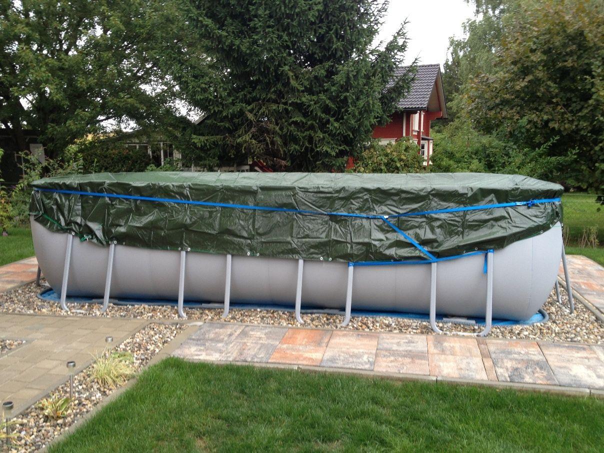 Intex Frame Pool Ultra Quadra 975x488x132cm Seite 3 Hinterhof Ruckzug Swimming Pool Gartengestaltung