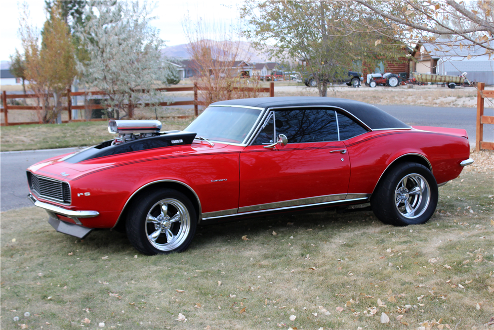 1967 CHEVROLET CAMARO RS CUSTOM COUPE – Barrett-Jackson Auction Company – World's Greatest Collector Car Auctions