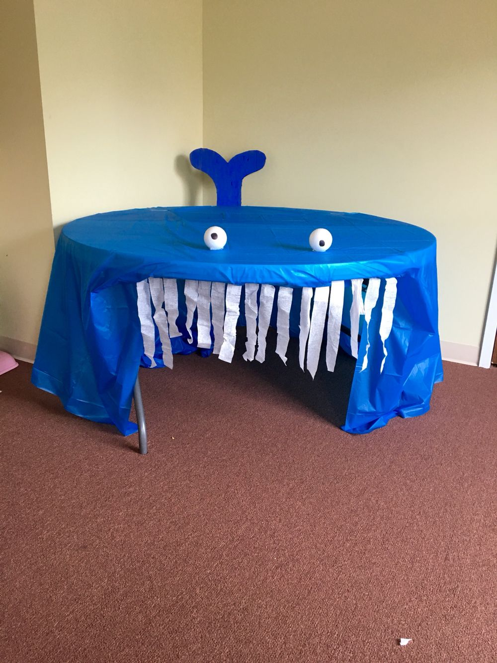 Craft for creation story - Jonah And The Whale