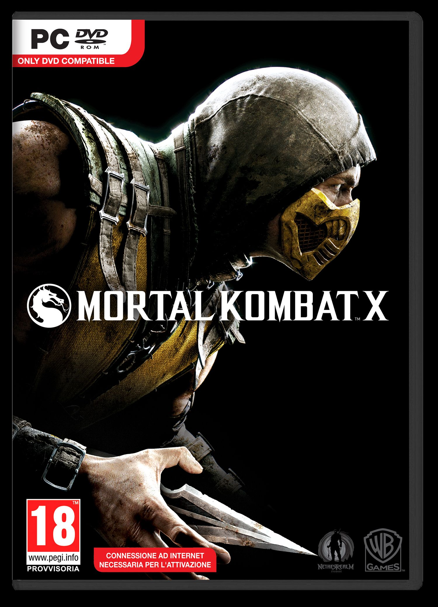 The Box Cover For Mortal Kombat X Is Revealed And The Game Is Now