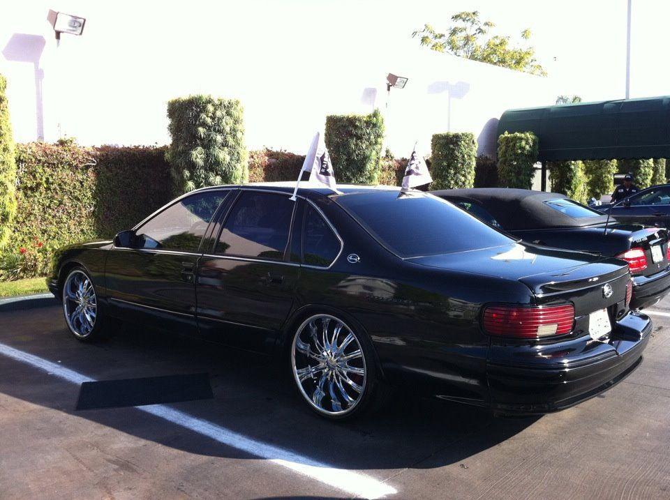 95\' Chevy Impala SS #Raider Flags Up | Raider Love | Pinterest ...