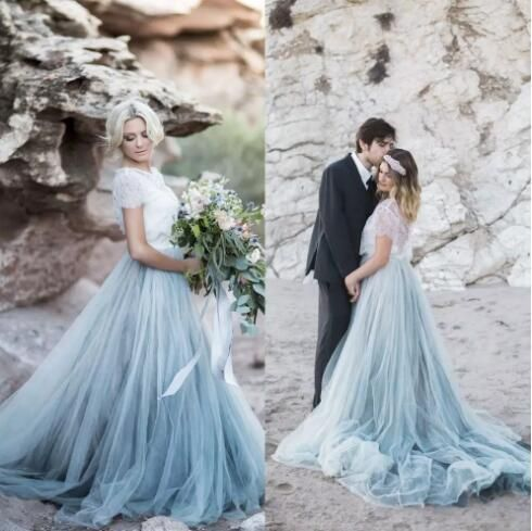 2018 Vintage Boho Wedding Dresses Beach Greek Godness A-line Wedding ...