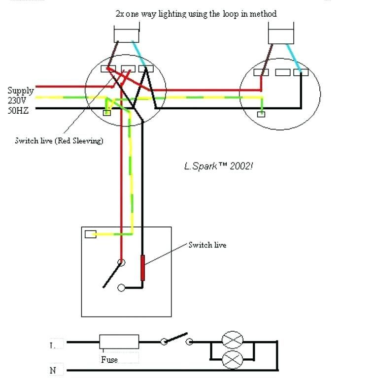 Wiring Diagram Two Switch One Light