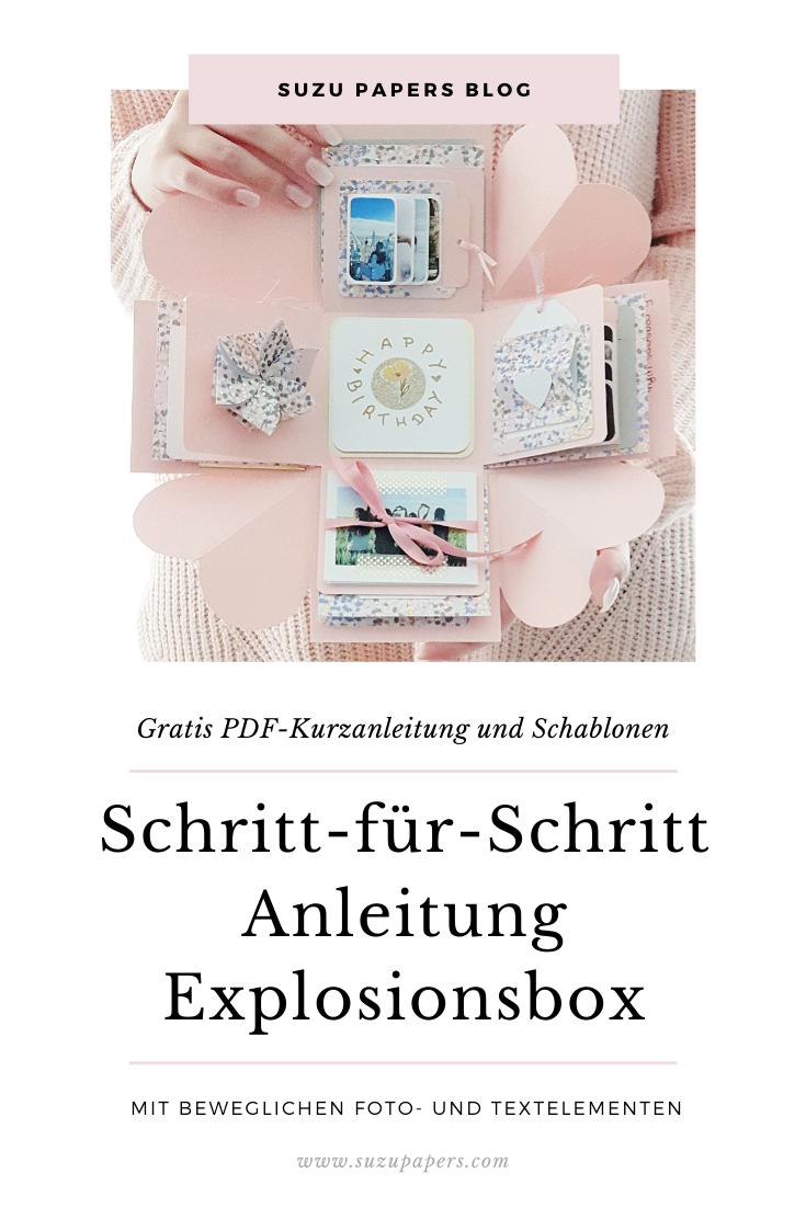 Photo of Anleitung Explosionsbox basteln: Geburtstag Liebe Freundin -…