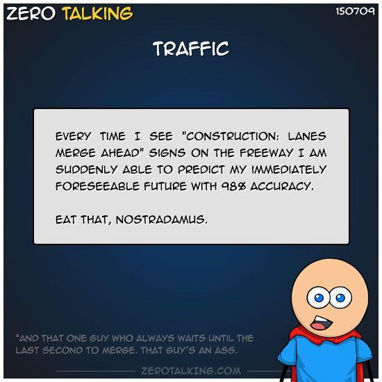 Traffic #ZeroTalking
