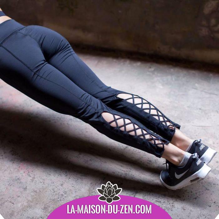 e55fd059bab364 Magnifique Legging Croisé. croisé#danse#femme#fitness#habits#legging ...