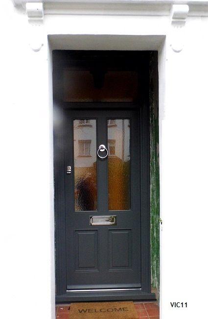 victorian door grey | Victorian Georgian Edwardian Front Doors ...