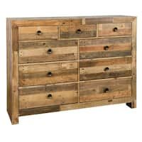 Best The Gray Barn Fairview Reclaimed Wood 2 Drawer Nightstand 400 x 300