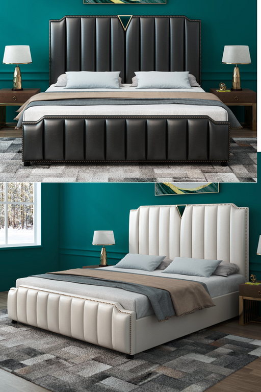 30 Stunning Leather Bed Frame Design Ideas To Make Your Bedroom