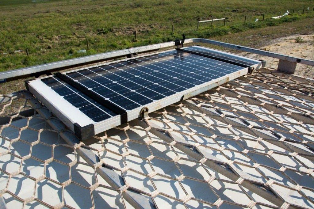 80 Series Land Cruiser Build Up Solar Panel Mounts 12v Solar Panel Solar