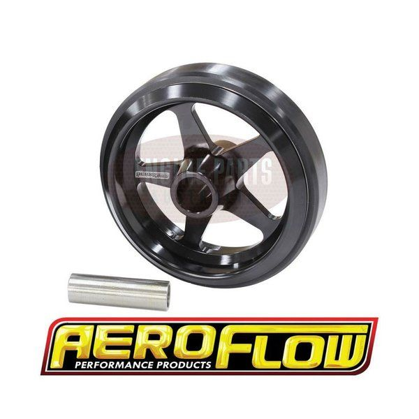 Aeroflow has become synonymous with premium quality performance products. Aeroflow's objective has been to incorporate state-of-the-art manufacturing, aerospace quality materials and rigid quality controls to produce quality performance products at extraordinary value. Aeroflow has taken its forward thinking knowledge to the street, manufacturing a wide range of race quality products to improve street performance and dependability.