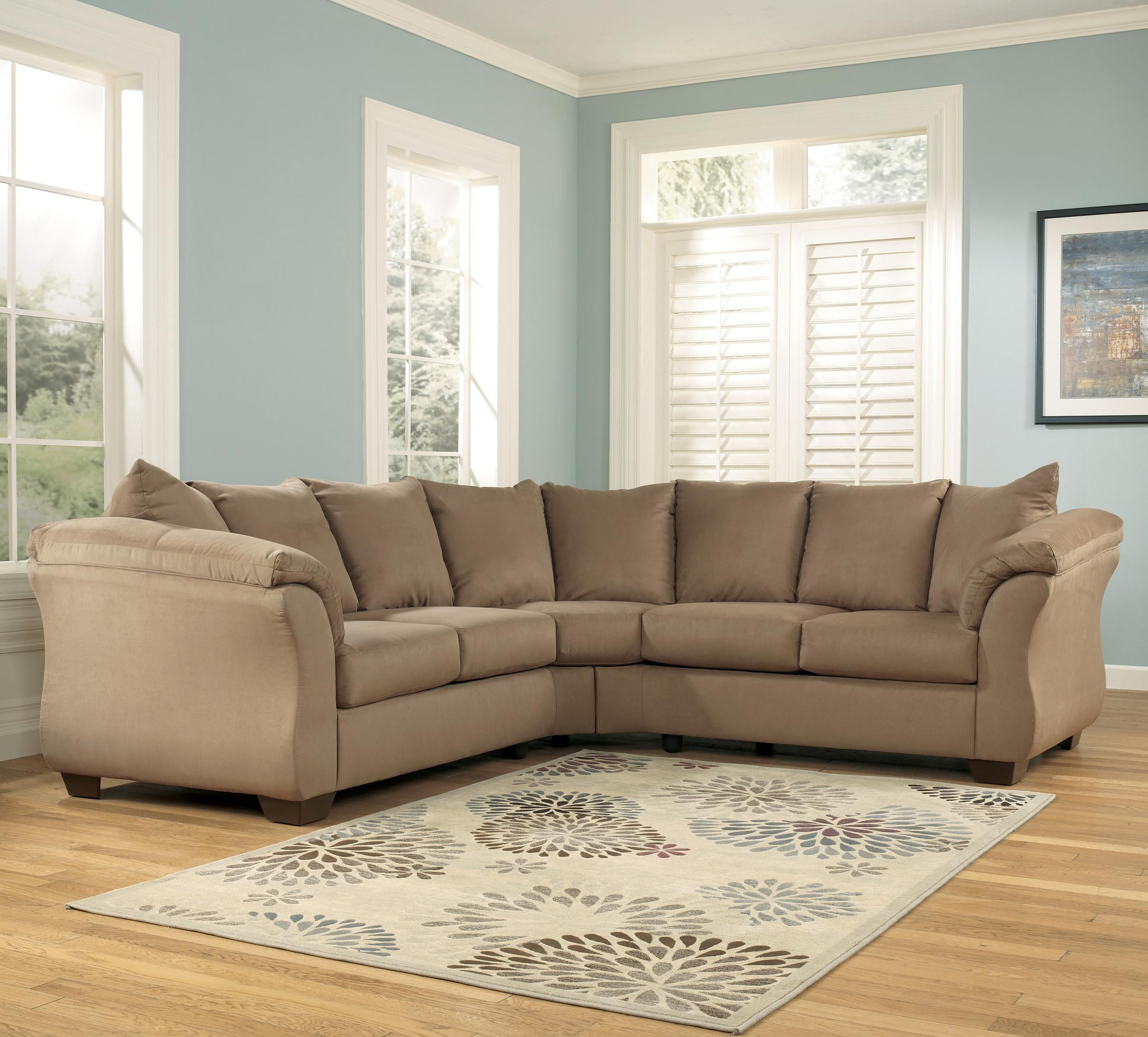 Swell Darcy Mocha Sectional Sofa Contemporary Sectional Sofa Home Remodeling Inspirations Basidirectenergyitoicom