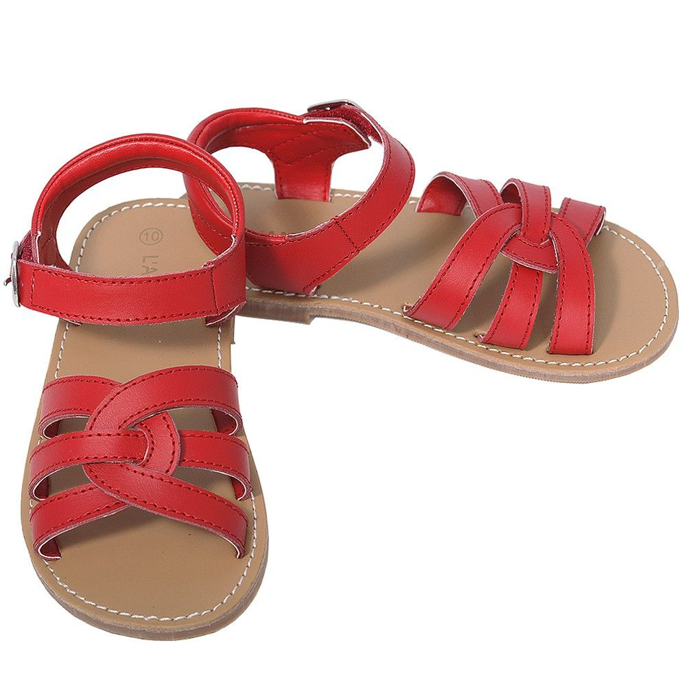 GIRL INFANT KID/'S RED HERRING SANDLES SHOES