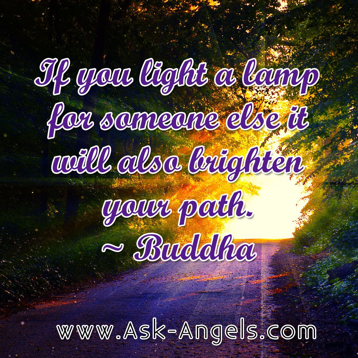If you light a lamp for someone else it will also brighten your ... for Lamp Quotes Sayings  117dqh
