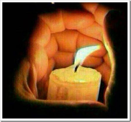 Whatsapp Kerzenbild