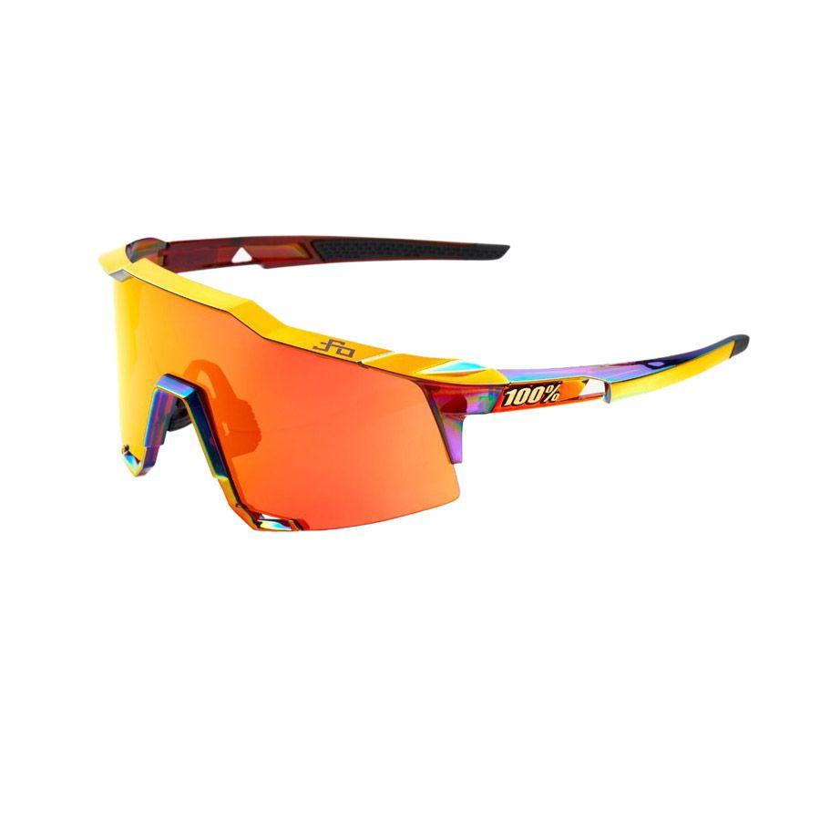100% Speedcraft Peter Sagan Sunglasses Chromium Red