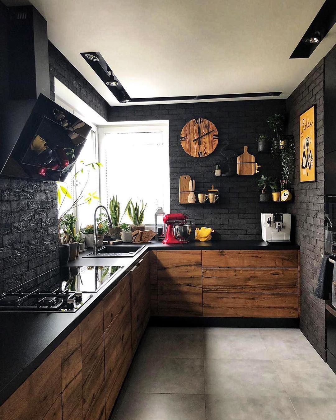 Décoration Design Accessoires  Intérieur moderne de cuisine, Idee