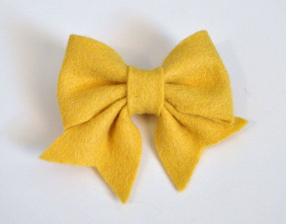 Felt Bow Pdf Tutorial With Printable Templates 6 Bows In 1
