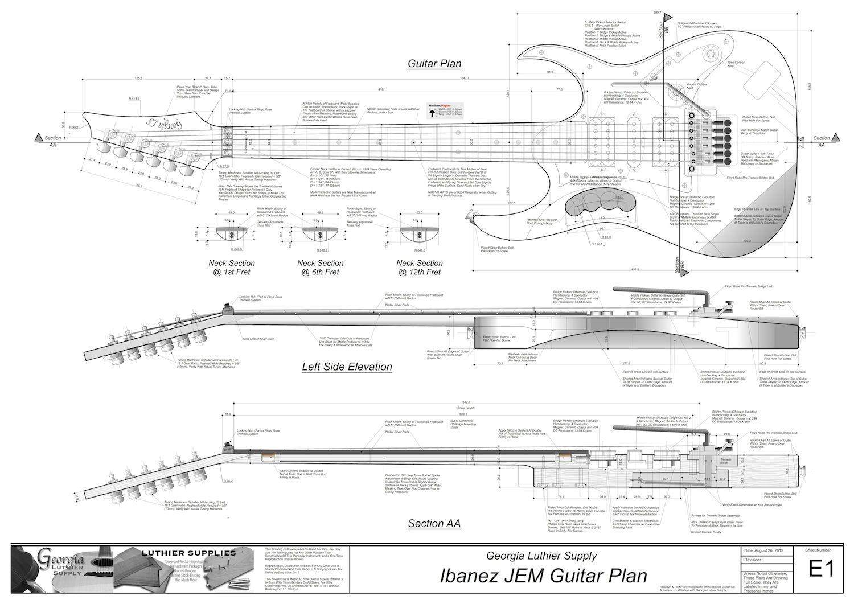 blueprint | Guitars | Pinterest | Guitars and Guitar building
