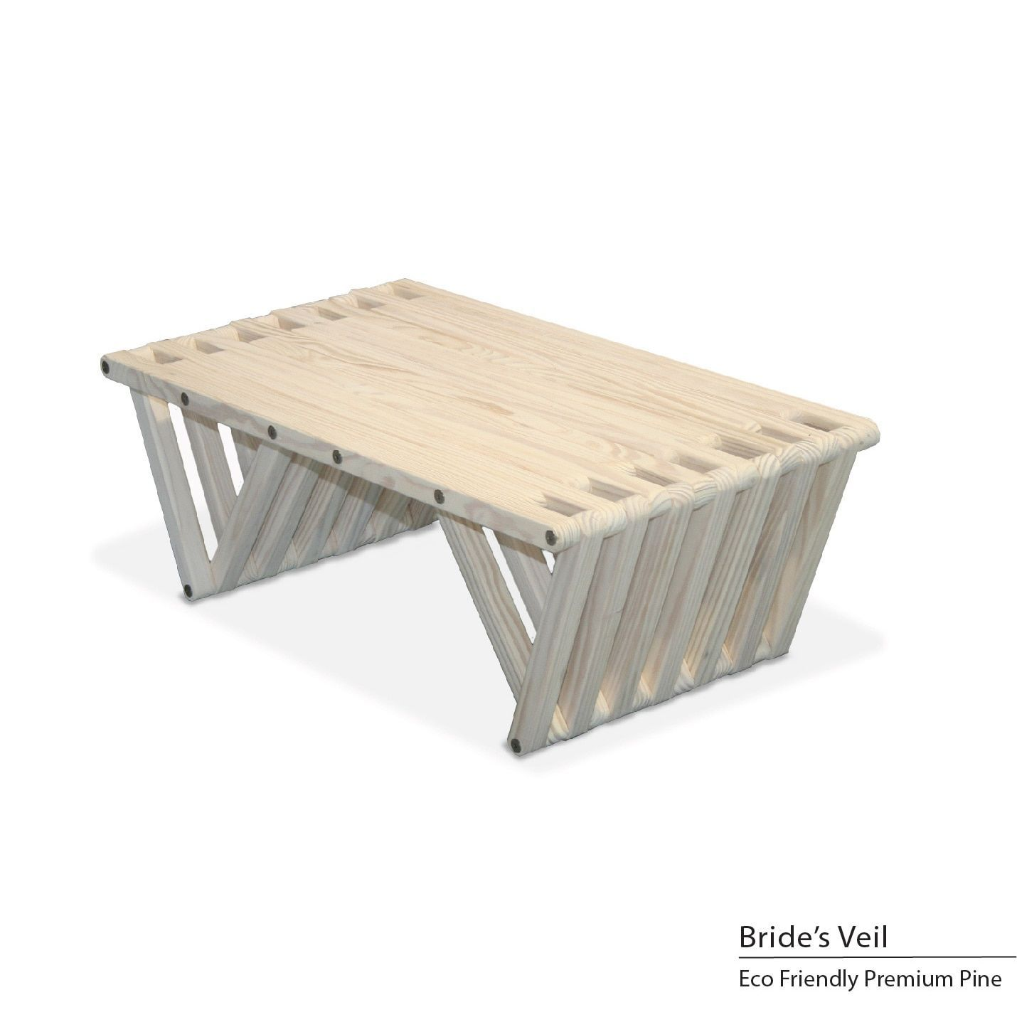 Glodea Eco Friendly Coffee Table X36 Bride S Veil White Patio Furniture