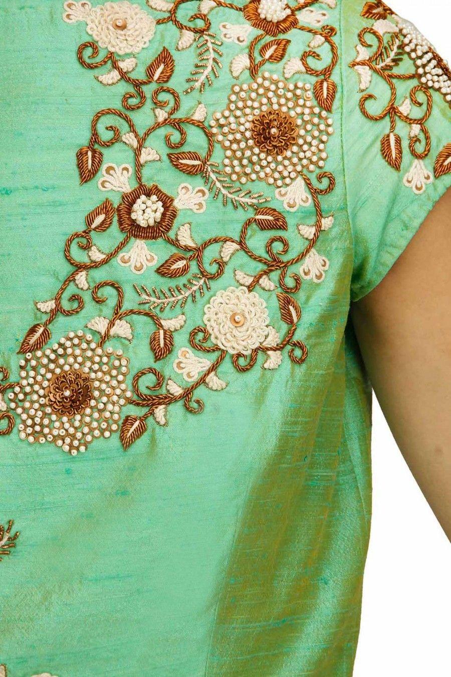 Tisha saksena vrushali pinterest embroidery blouse designs designer wear bankloansurffo Images