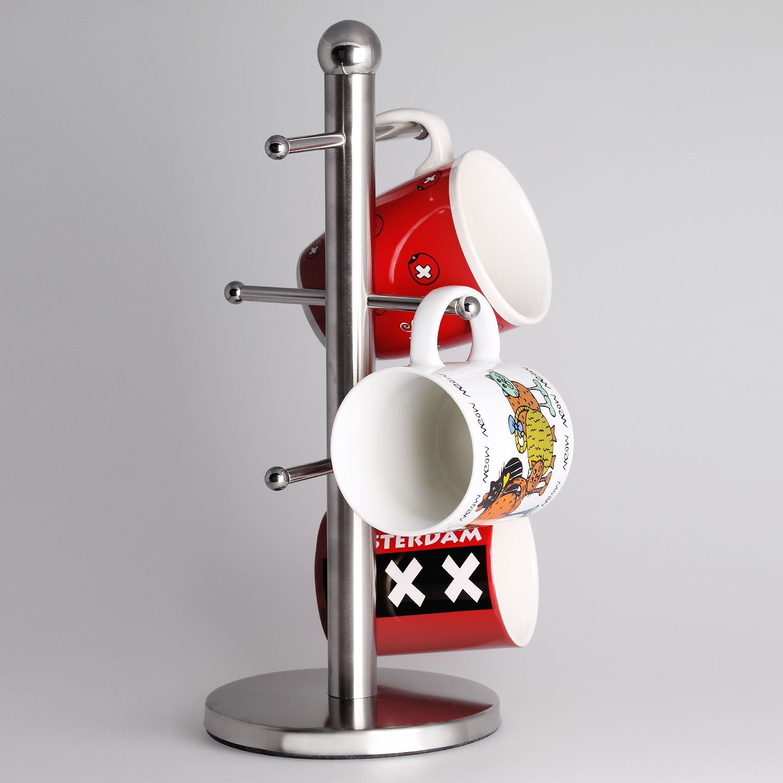 Colgador de tazas de acero inoxidable | Hogar | Pinterest | Acero ...