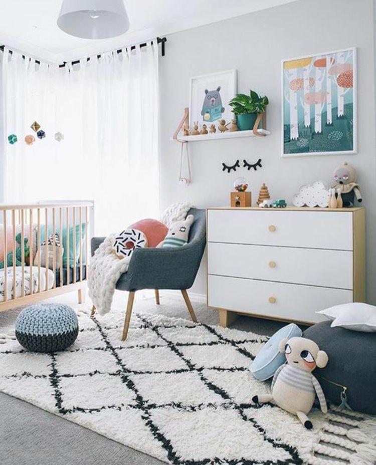 Inspirational Gardinen f r Kinderzimmer Kinderbett und andere Kinderm bel