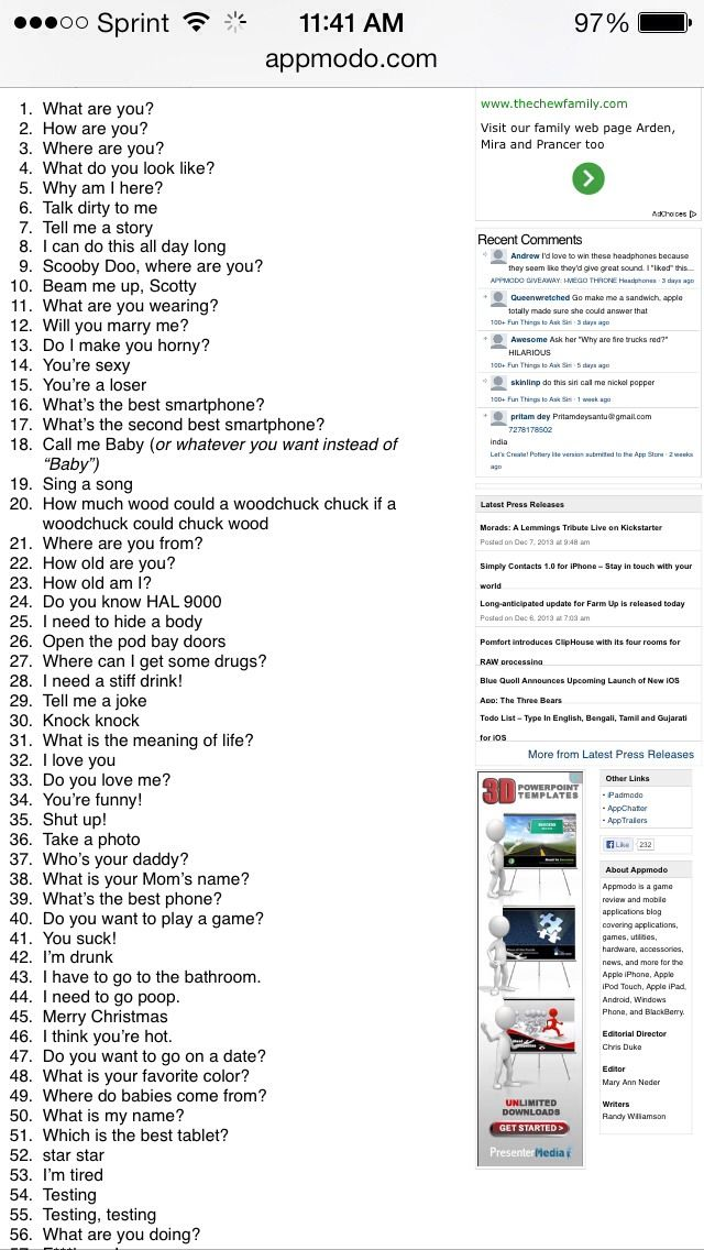 105 Questions To Ask Siri Iphone Ideas Things To Ask Siri Funny Siri Questions This Or That Questions