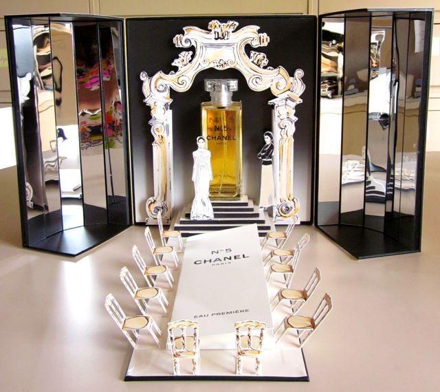 0c996da8300 NIB+CHANEL+No+5+EAU+PREMIERE+-+5+oz.+eau+de+parfum +-+Catwalk+Runway+Collectible+ Chanel