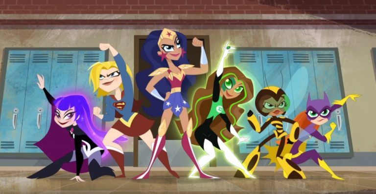 Dc Super Hero Girls Trailer Coming To Cartoon Network March 8