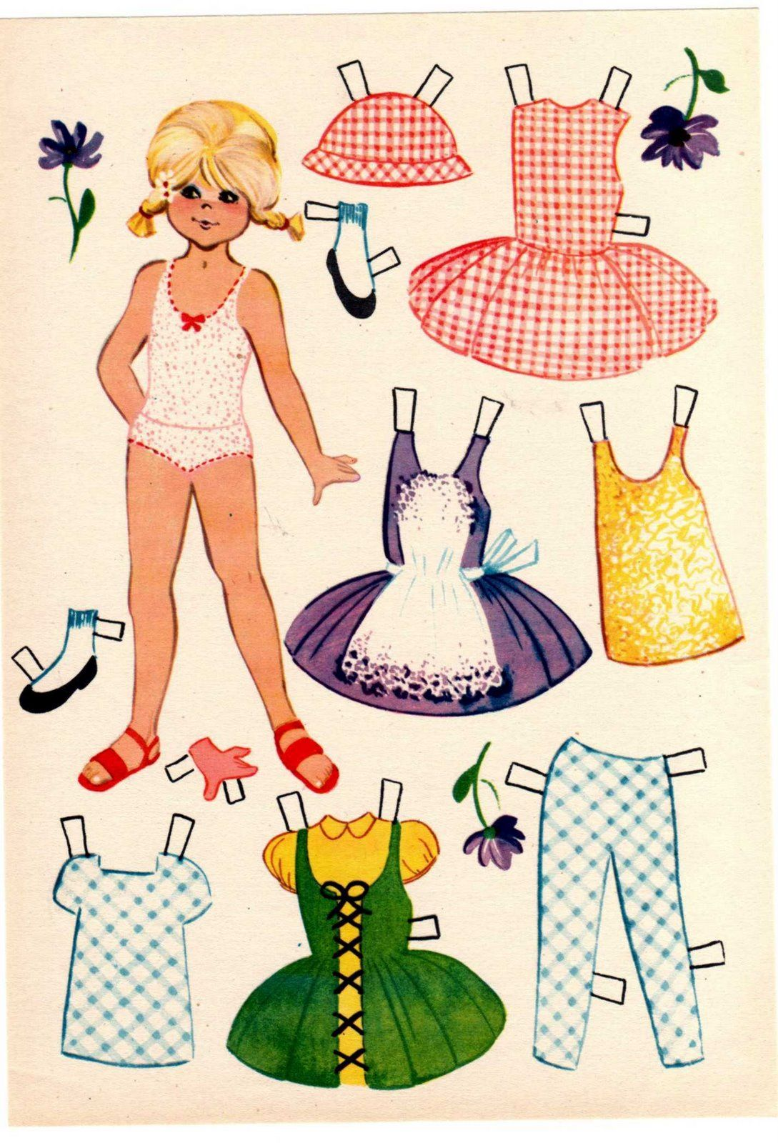 Mais Bailarinas Paper Dolls Vintage Paper Dolls Dolls