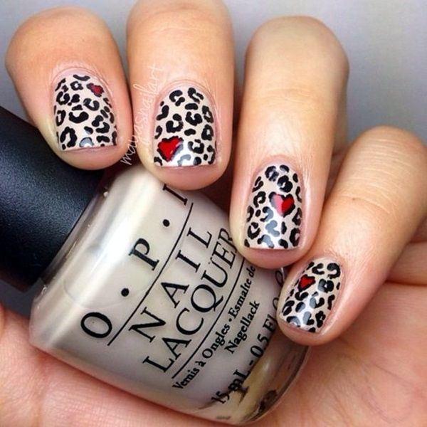 45 Stylish Leopard Prints Nail Art to Stand in Vogue | Leopard print ...