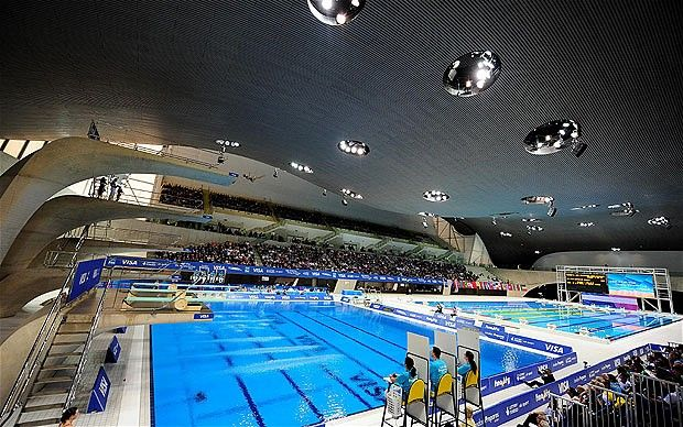 Olympic Swimming Pool 2012 london 2012 olympics: aquatics centre still has the wow factor