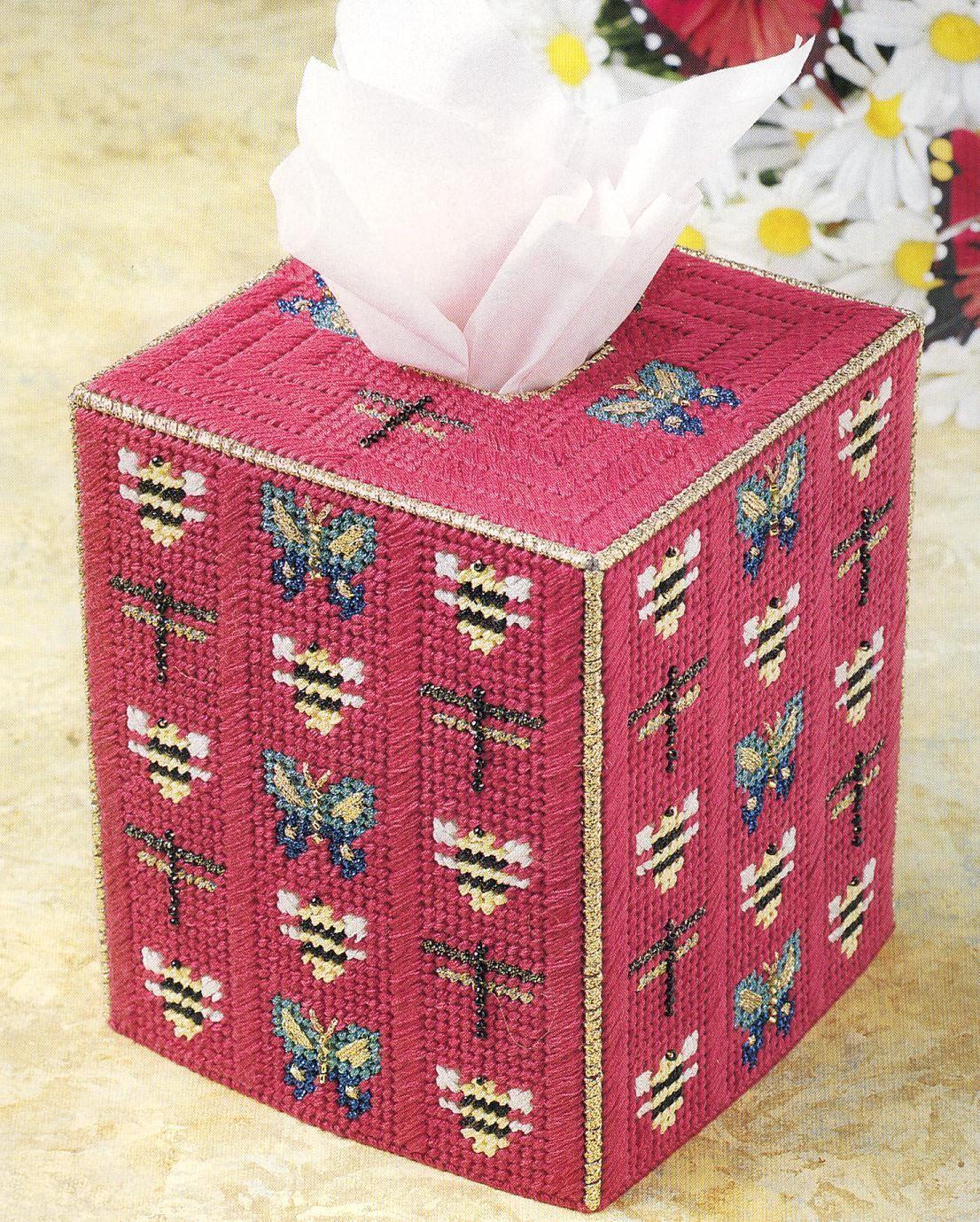 Plastic Canvas Tissue Holder Patterns Bug Tissue Box