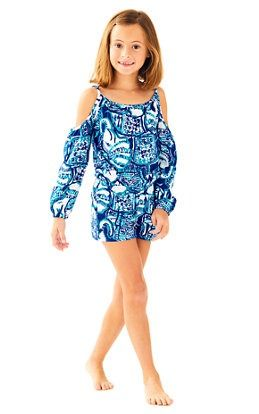 2bfcdcc1ea0e6a Girls Candice Romper- $52   Little Lilly   Rompers, Girls rompers ...