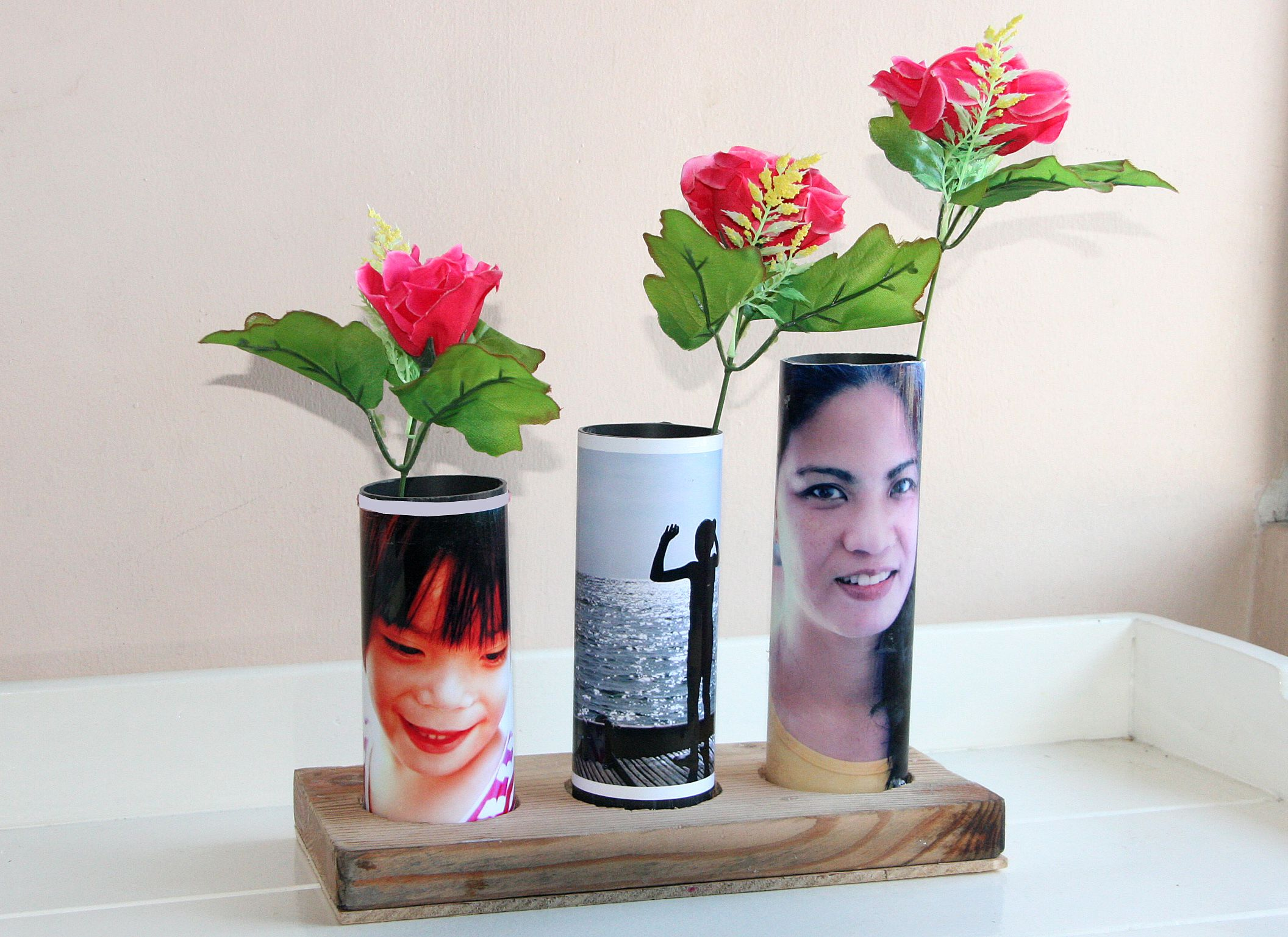 Make a bud vase from a pvc pipe pvc pipe pipes and craft how to make a bud vase from a pvc pipe via wikihow reviewsmspy