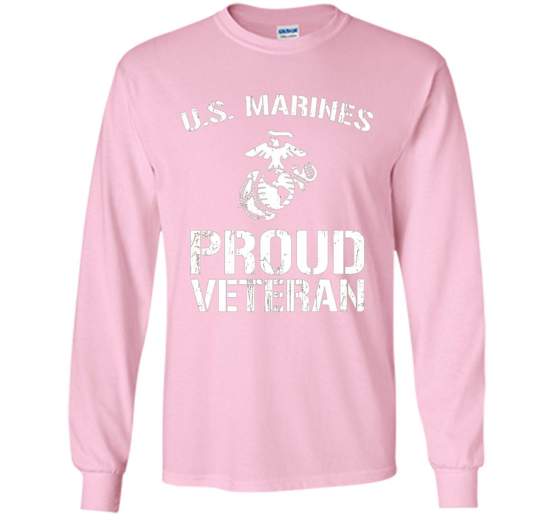 845cbd79 US Marines Proud Veteran T-shirt America US Marines T-shirt | Products