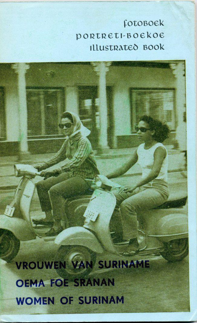 vrouwen van Suriname - Oema foe Sranan - Portreti Boekoe uit 1967 t.g.v. 25-jarig bestaan van de YWCA. Thea Doelwijt stelde het boekje samen. De foto's werden gemaakt door Andre Parmanand, Percy Nassy. Lucien Chin A Foeng, Nellius Rado en Erik Zoutendijk. De odo's werden verzorgd door  Johanna Schouten-Elsenhout. klik om inhoud boekje te bekijken.