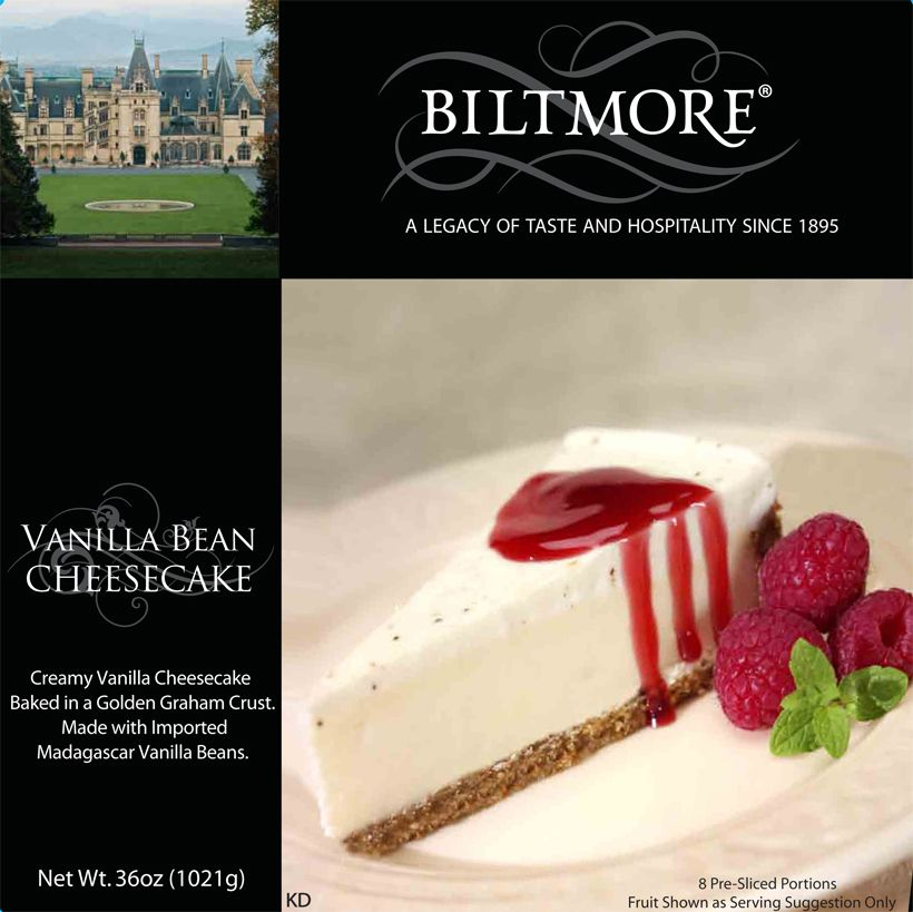 Biltmore Vanilla Bean Cheesecake Available At Wal Mart In The Freezer Section Love It