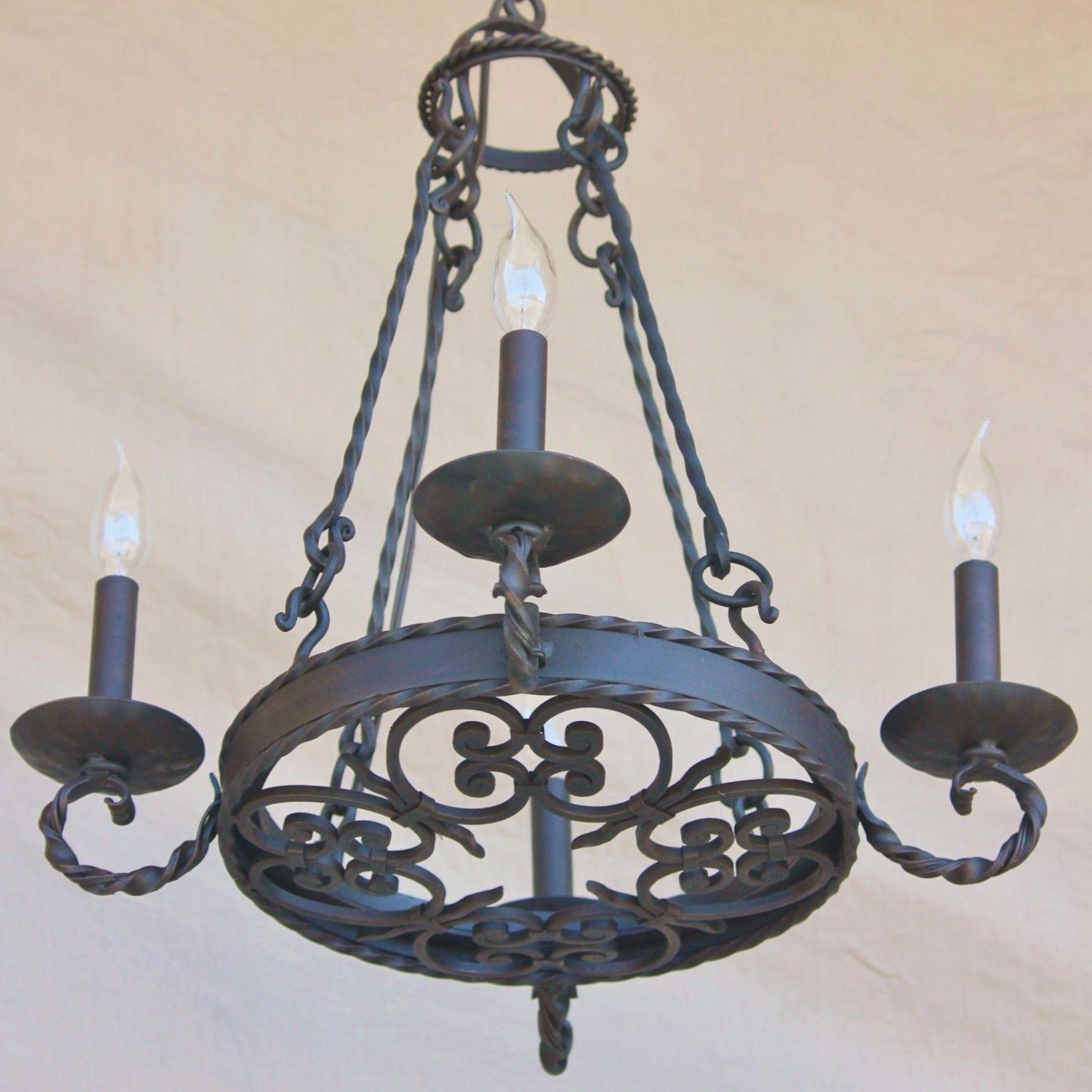 Spanish revival chandelier light of tuscany stairwell shivas spanish revival chandelier light of tuscany stairwell aloadofball Images