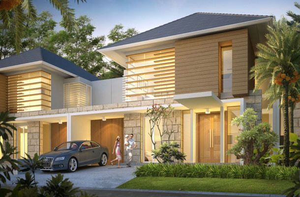 rumah mewah minimalis modern 0817351851