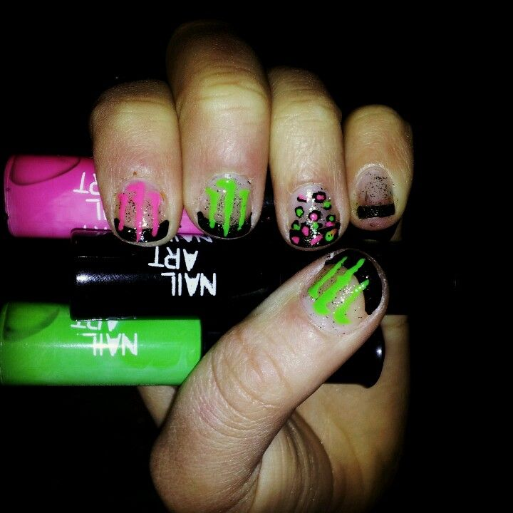 Monster nails | Nails | Pinterest