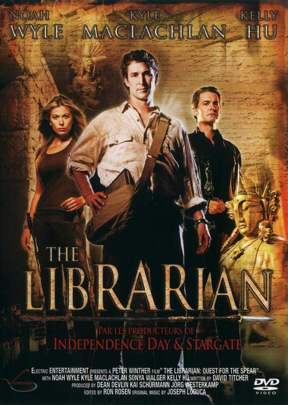 the librarian movie the librarian quest for the spear