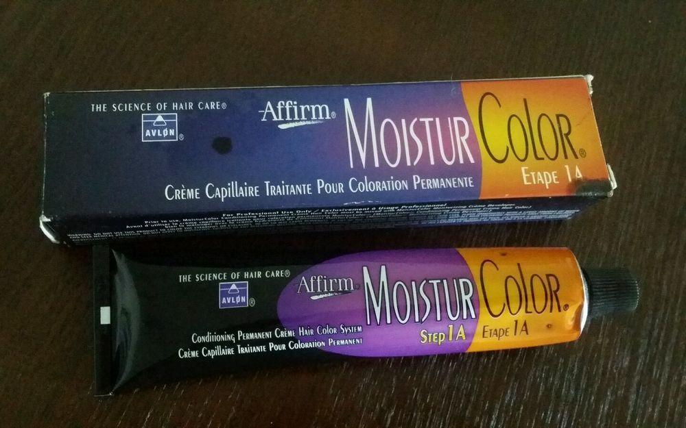 AVLON Affirm Moistur Color Permanent Hair Color 6G Golden Blonde #Avlon