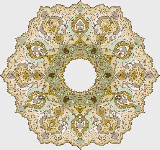 موسوعة صور المهندسة زخارف اسلامية 13 امتداد Eps Arabesque Design Islamic Art Pattern Arabesque