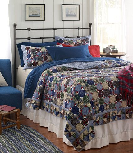Antique Circle Quilt: Quilts | Free Shipping at L.L.Bean